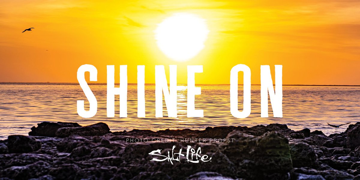 Shine On 🌅   #WeekendVibes #SaltLIfe
