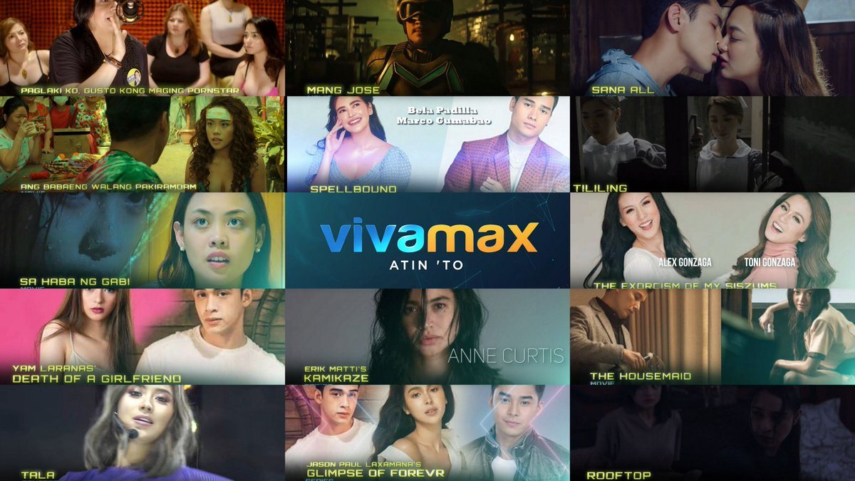 VIVAMAX - A New Streaming Platform to Binge Watch For  via @YouTube #SarahGeronimo #AnneCurtis #BelaPadilla #JuliaBarretto #MccoyDeLeon #DiegoLoyzaga #MarcoGumabao
