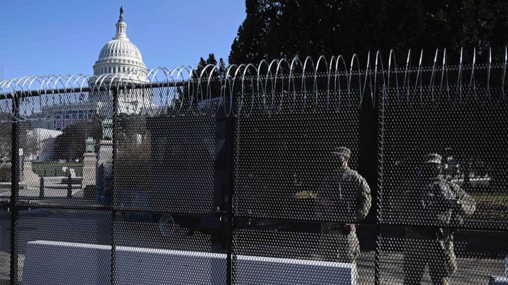 The #Trump-wall is now needed in #Washington   #Biden #ImpeachedTwice  #AmericaOrTrump