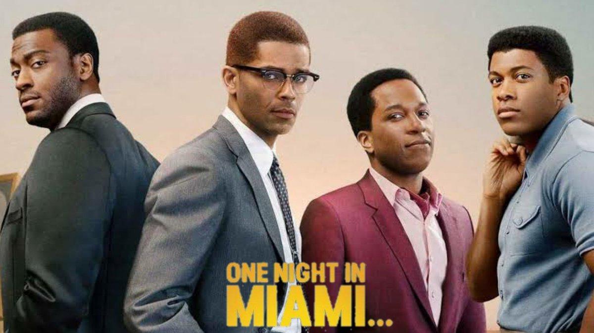 8. One Night In Miami... (2020) Direção: Regina King ⭐⭐⭐⭐½  Chorei igual um desgraçado com esse encerramento, completamente apaixonado pelo Kingsley. E a Regina entregou demais! Disponível em: @PrimeVideoBR  #OneNightInMiami