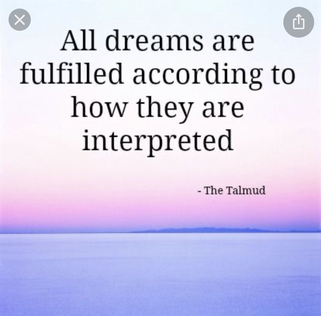 All dreams are fulfilled according to how they are interpreted.   #PicOfTheDay    #SaturdayMorning    #SaturdayMotivation    #SaturdayVibes    #BeHappy    #BeKind    #grateful    #gratitude