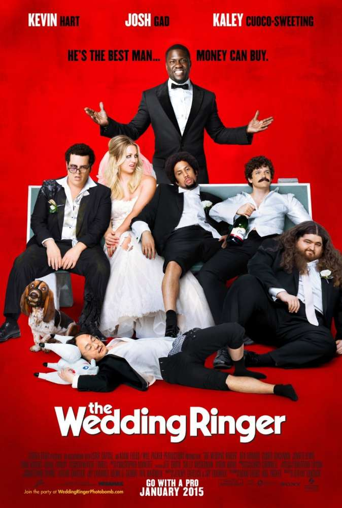 The Wedding Ringer was released on this day 6 years ago (2015). #KevinHart #JoshGad