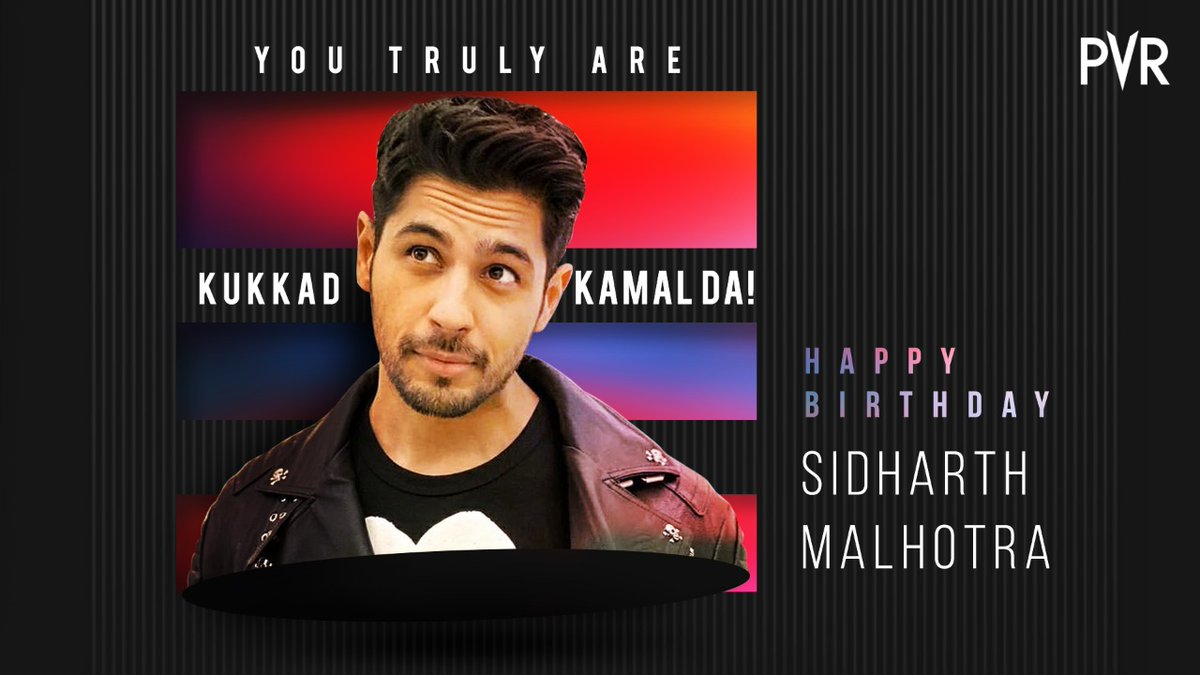 We saw Student Of The Year & instantly we were your fans!  Those who relate, wish Sidharth Malhotra a very Happy Birthday in the comments section below.   #HappyBirthdaySidharthMalhotra  @SidMalhotra