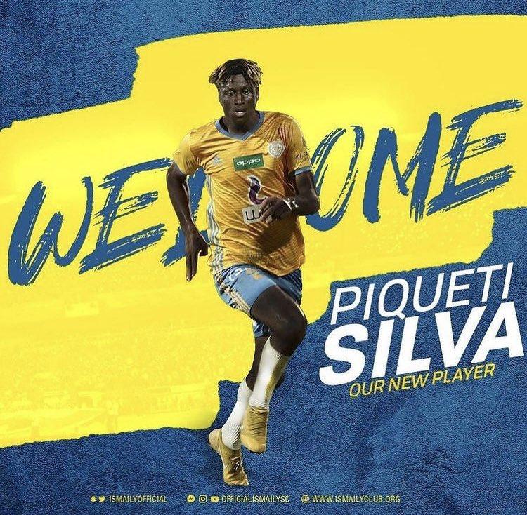 Piqueti Silva regressa ao Ismaily SC. O extremo de 27 anos havia terminado a ligação com o emblema egípcio em Dezembro. Em Portugal, o atleta já representou o SC Braga, Gil Vicente, Marítimo, Académica. https://t.co/MtQ5K1byqJ