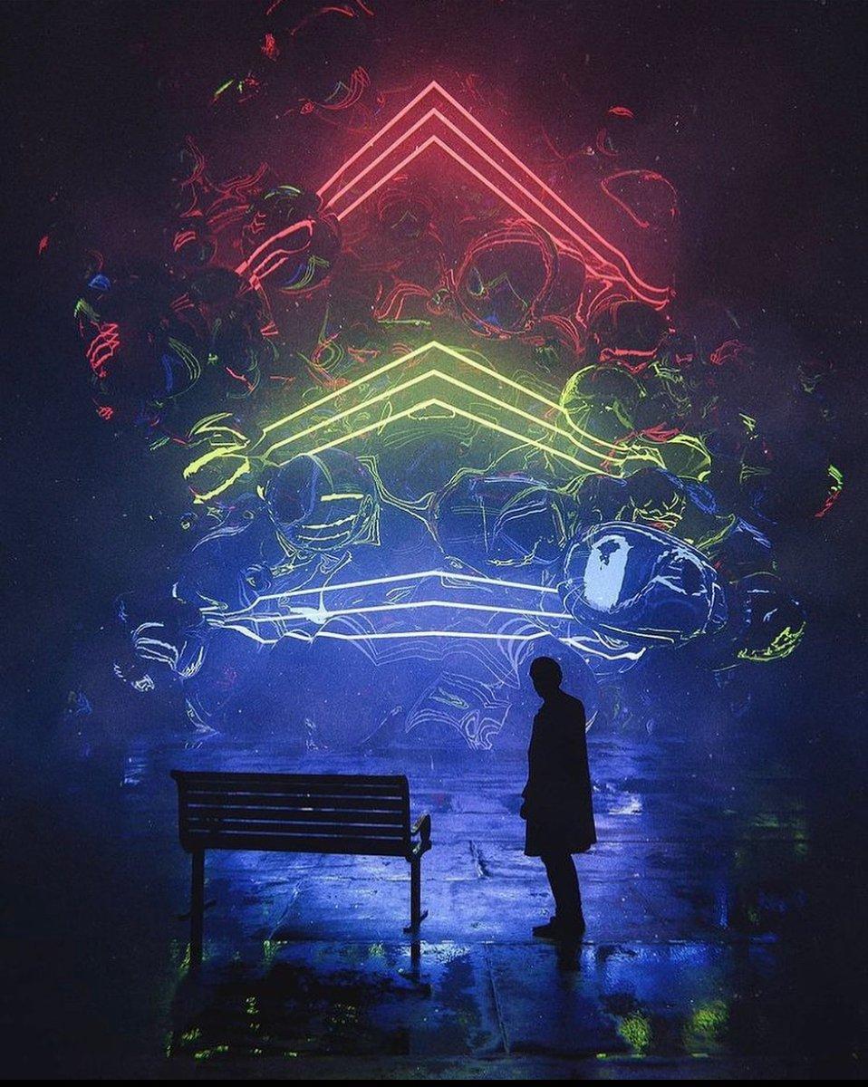 Meaning 💭 by @maxhayart   #nft #cryptoart #art #crypto #graphics #3d #c4d #render #photoshop #octane #nifty #rare #superrare #artist #artists #illustrator #vector #animation #video #motion #design #create #designer #adobe #bitcoin #ethereum #meme #digitalart #tech #creative