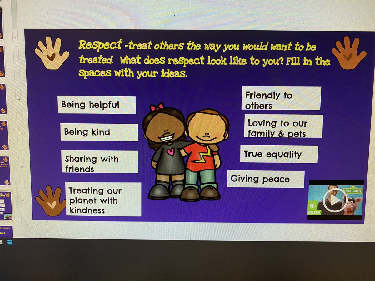 Honoring the remarkable #MartinLutherKingJr  by sharing our ideas then listing ways in which #respect looks like to us!✌️💕🤝@morrisaveschool @LBpublicschools