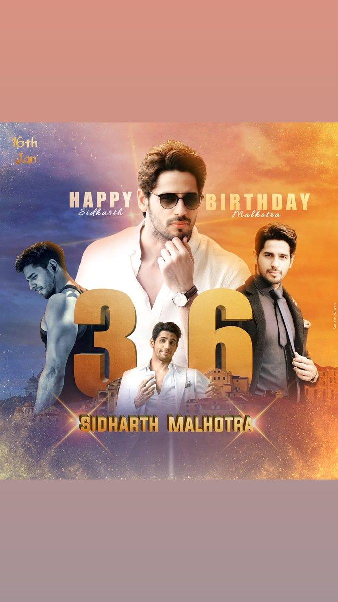 Happy birthday @SidMalhotra 🥞🥞🎉🎉 #SidharthMalhotra  #HappyBirthdaySidharthMalhotra #birthday #HAPPYBIRTHDAY  #SidharthMalhotraBirthday