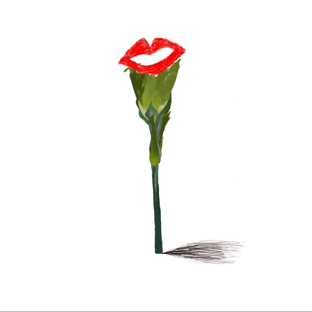 #VermelhoemBelem 💄  Eu voto! Dia 24! #Democracy #Respect #EqualRights  Ilustração de Sérgio Condenço