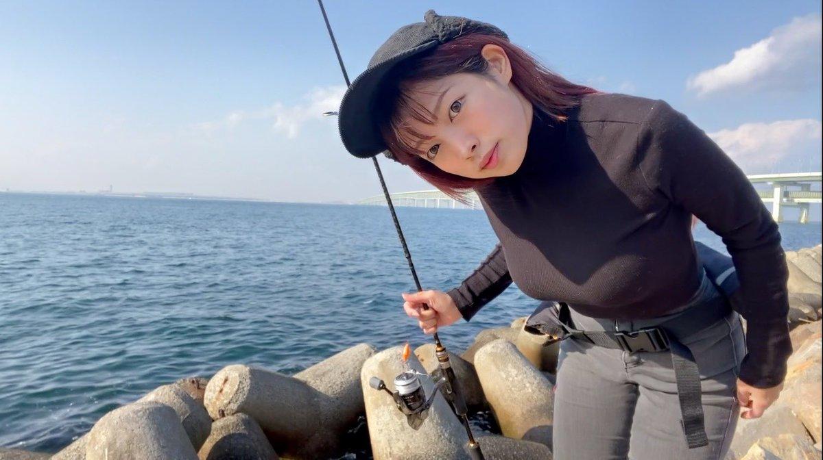 今年は穴釣りから始まり!みてね🥳