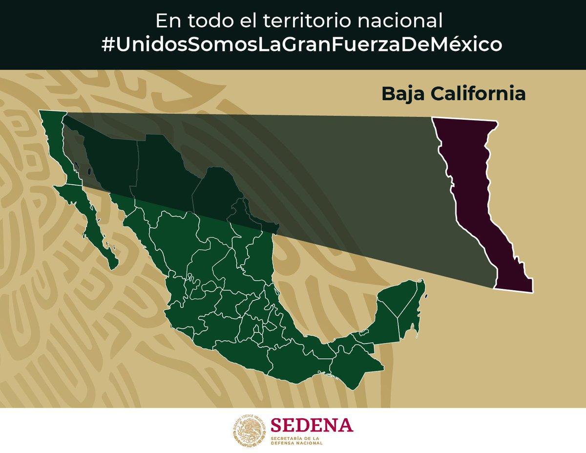 El 16 de enero de 1952 se publica en el Diario Oficial de la Federación el decreto por el que se crea el estado de Baja California con la superficie y límites que tenía el denominado Territorio de la Baja California Norte. https://t.co/zF4ePzu0H6