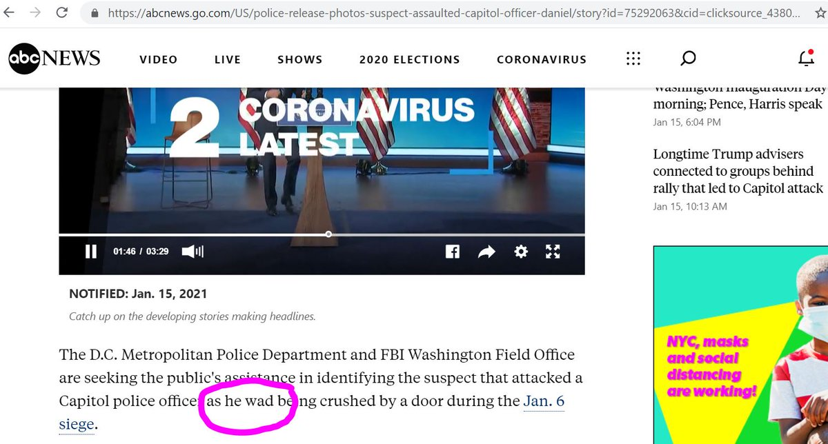 What an #embarrassment for @ABC #News to #fail so spectacularly by not having a #CopyEditor. This is just #lazy & #sloppy #journalism that gives all real #journalists a bad name.  Show some #respect.