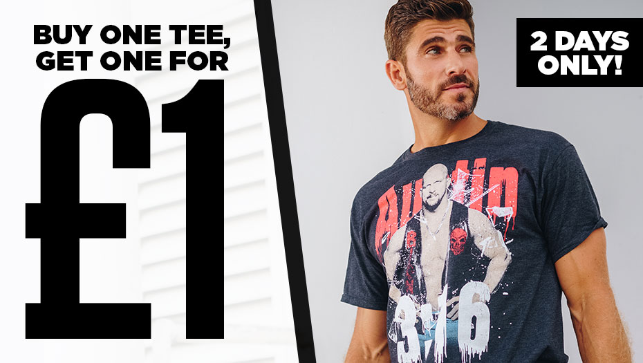 🚨Deal Alert! Buy one t-shirt, get one for just £1! Today only!   https://t.co/r3SaiZjre0 https://t.co/J8YipRKbWd