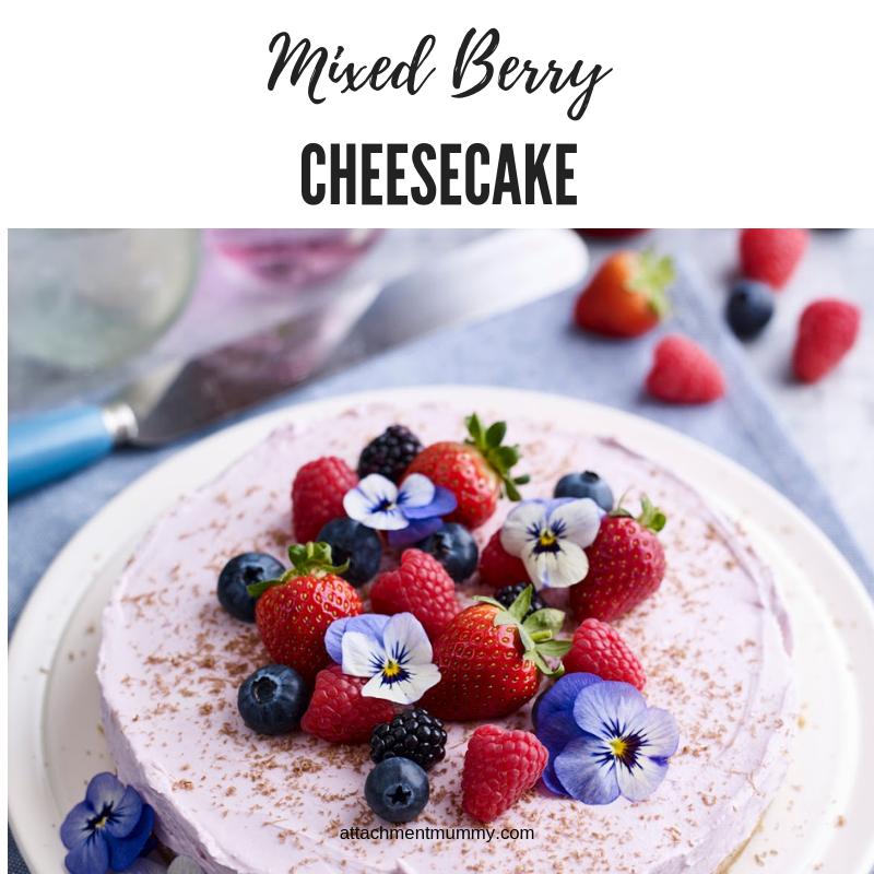 Mixed Berry Cheesecake #cheesecake #dessert #berries  https://t.co/EVf7pHAam0 https://t.co/XZAfSbPU9k