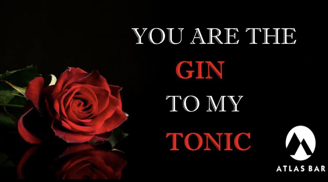 V A L E N T I N E S  D A Y 🌹 ❤️   Our premium @TheAtlasBar #ValentinesDay home #gin experience and virtual tasting is available to order now #Manchester 🍸   ❤️🌹