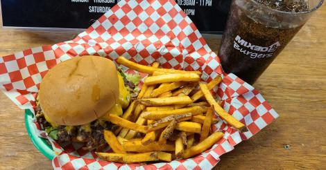 1/2 price kids meals til 4 pm (Dine-in only) 👊❤️😋#MixedUpBurgers #photooftheday