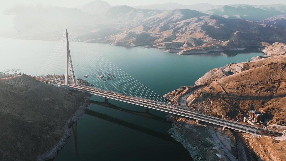 2021'e güzel başladık çok şükür...  ✅Kömürhan Köprüsü  ✅Türksat 5A ✅Devegeçidi Köprüsü ✅Yenikent - Temelli Yolu ✅Çamlıca Kulesi