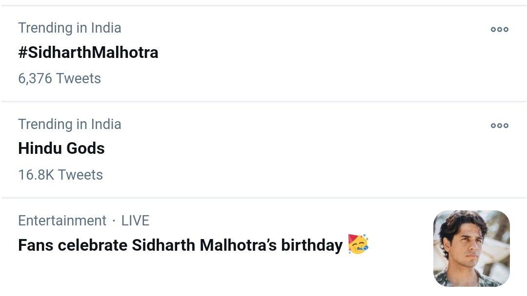 Thanks Twitter for acknowledging our efforts. Ab toh aur maza aayega trend mein.. #SidharthMalhotra #HappyBirthdaySidharthMalhotra