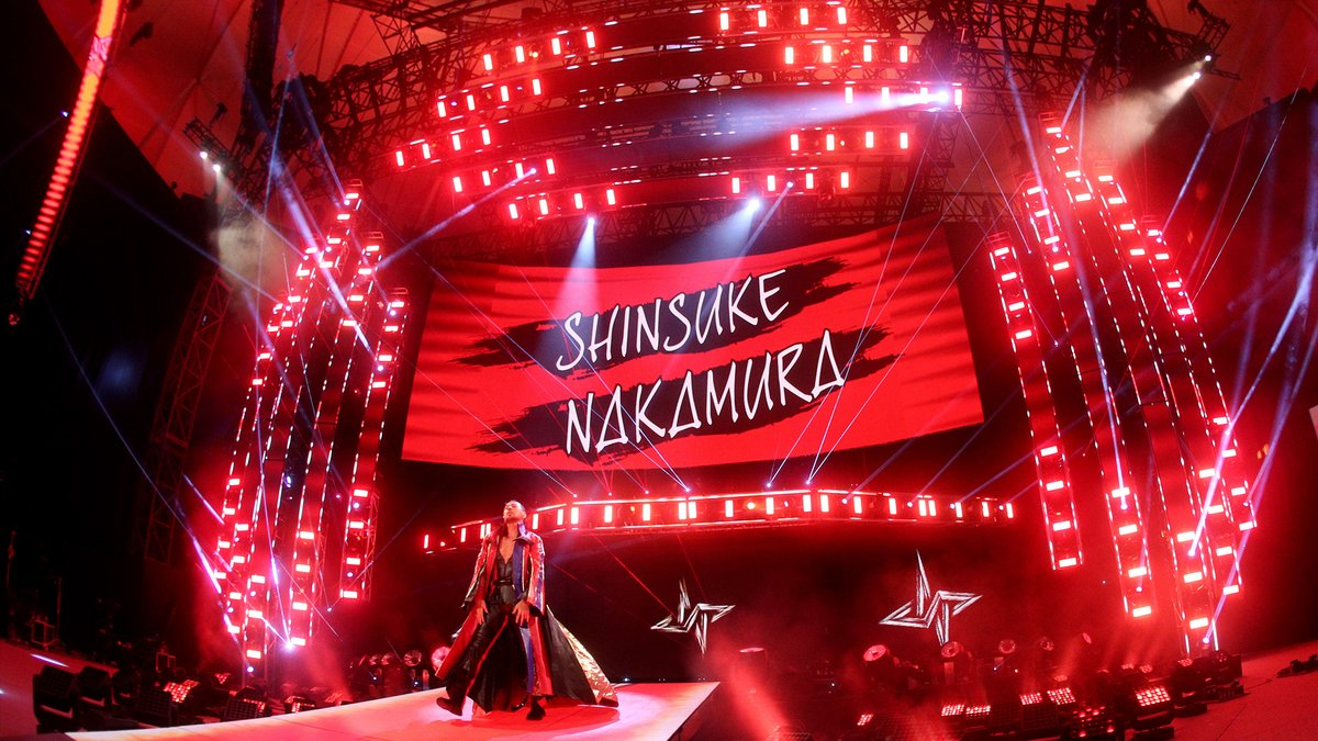 The Artist took over 'The Main Event'.    @ShinsukeN @WWEUsos #SmackDown https://t.co/y5Jhr3cew1