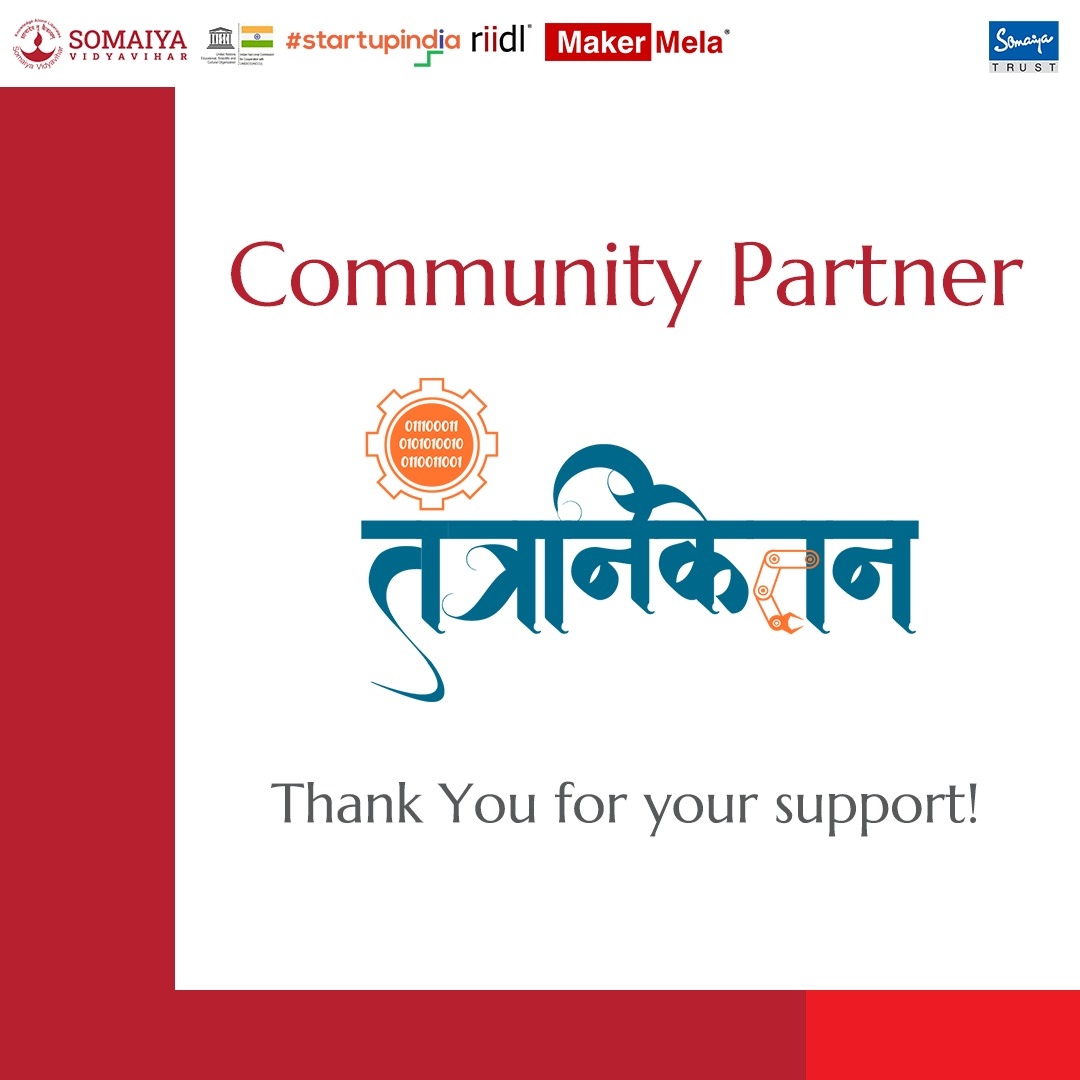 We're proud to announce our Community Partners for Maker Mela 2021! Thank you for your support.  #MakerMela #riidl #bioriidl #MakeInIndia #partner #makerspace #makersmovement #makersgonnamake #makers #new #benefits #impact #mumbai #mumbai_diaries #creativity #innovation #outreach
