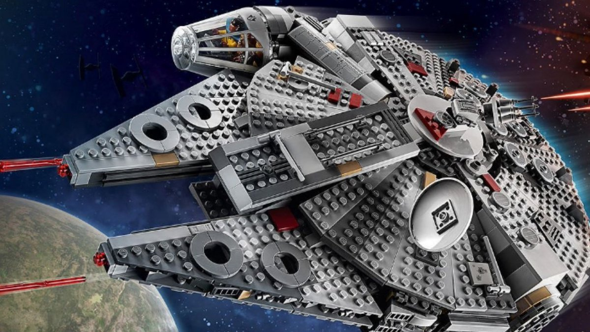 Lego Star Wars The Rise of Skywalker Millennium Falcon on #YouTube. Click on the link: