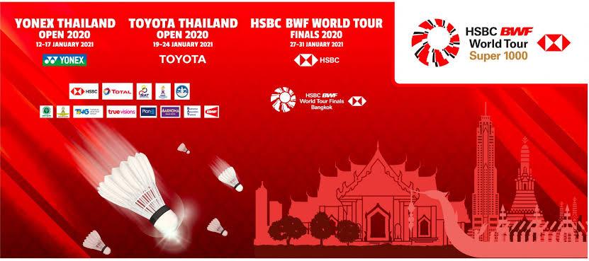 bwf series 2021  yonex thailand open 2021 selasa minggu 12/17 januari 2021 toyota thailand open 2021  selasa minggu 19/24 januari 2021  hsbc bwf world tour finals 2021  rabu minggu 27/31 januari 2021  di stadion indoor stadium huamark bangkok thailand live hanya di tvri https://t.co/QKjJypL4Qb