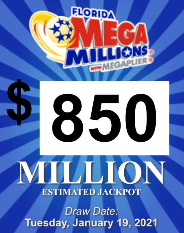 #SaturdayMorning NO ONE WON ! Great news look what it's up to now ! #MegaMillions #Florida @floridalottery 💰💰💰