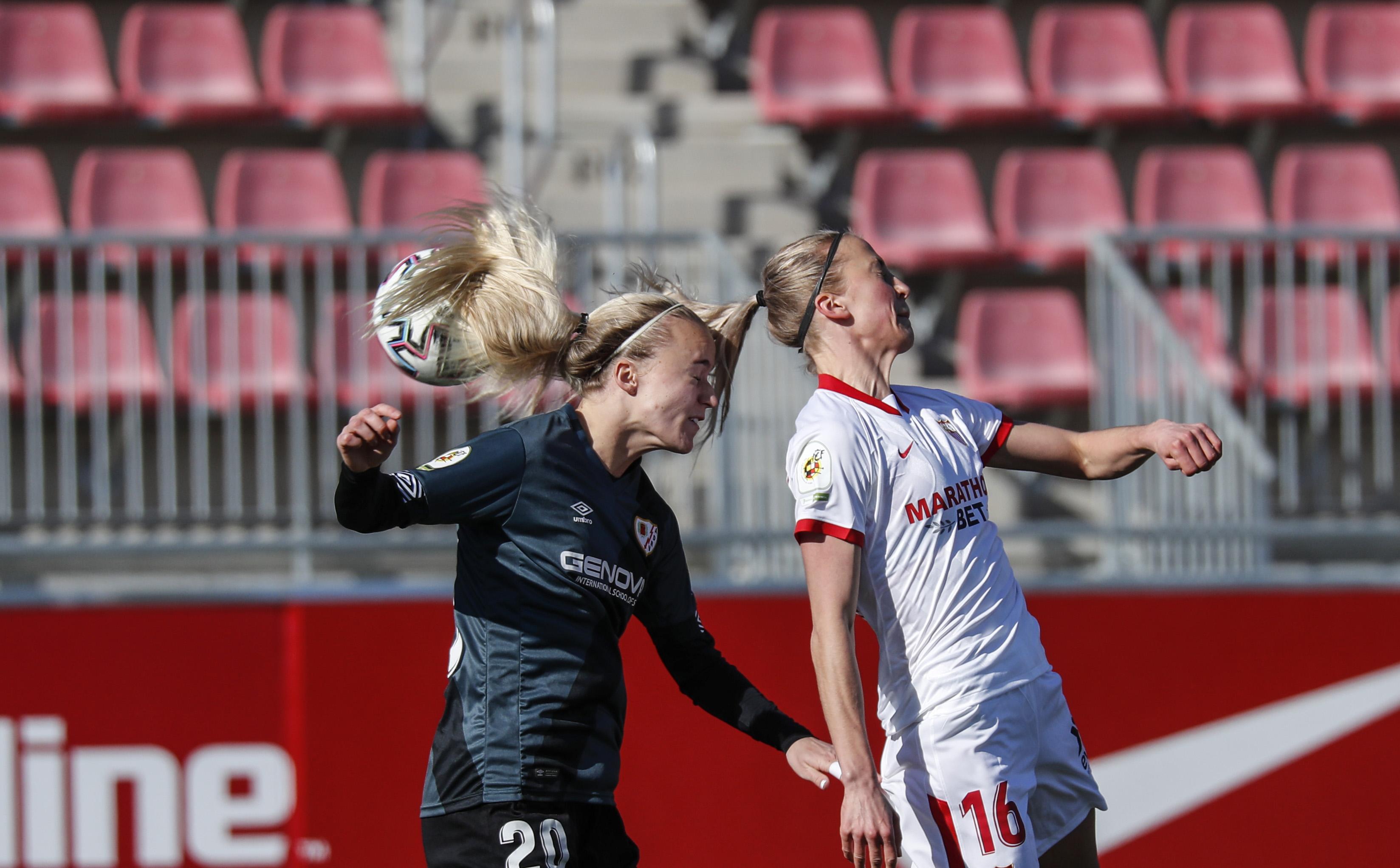 Sevilla FC Femenino - Rayo Femenino: Imagen: Rayo Femenino