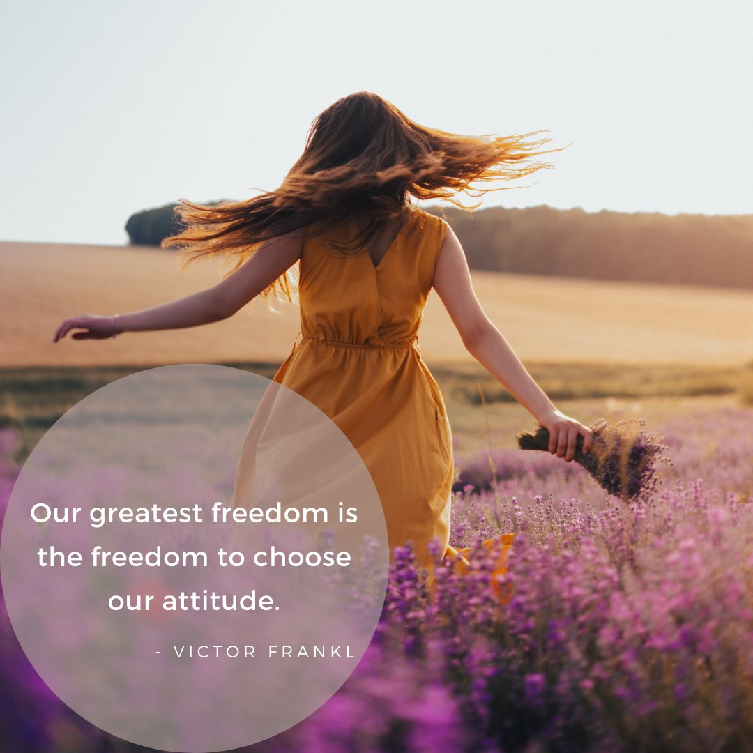 Our greatest freedom is the freedom to choose our attitude. Victor Frankl . . . #tracyjames #coachtracyjames #honoryourbody #loveyourself #chakrabalancing #strongwoman #healing #selflove #wildwoman #empower #covidkindness #togetherwerise #SaturdayMotivation #chooseyourattitude