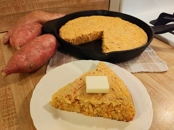 Sweet Potato Cornbread is nice and sweet👨🍳🍠🌽    #foodie #foodies #foodblog #foodblogger #recipe #cooking #easyrecipes #breakfast #brunch #SaturdayMorning #SaturdayVibes #SaturdayKitchen #SaturdayMotivation #SaturdayThoughts #Saturday #chef #ParnellTheChef