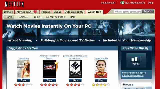 On this day in 2007: Netflix launches its streaming service.