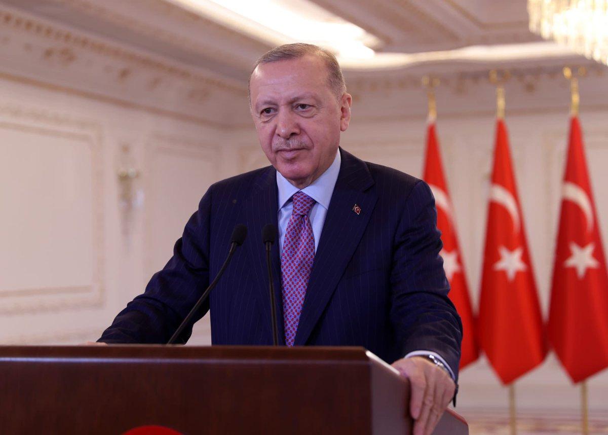 """""""Türkiye'nin tökezlemesini umanlara inat ülkemizi aydınlık bir geleceğe hazırlıyoruz"""""""