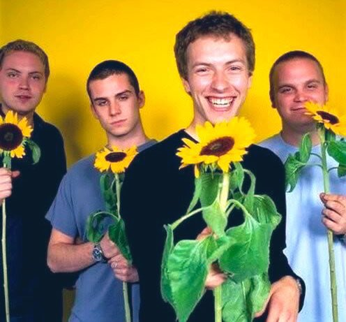 Happy 23rd Birthday, Coldplay!  Chris Martin, Jonny Buckland, Guy Berryman & Will Champion played their first show together, on this day, 23 years ago... ⭐️🐠  📅 16 Jan 1998 📜