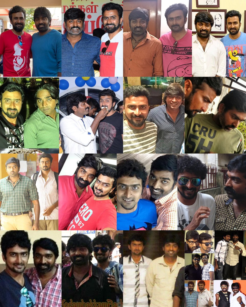 Replying to @Riyaz_Ctc: 12 Years friendship 🥳  Masha allah 🥰🥰  #HBDVijaySethupathi annatha 💪🏻💪🏻  @VijaySethuOffl