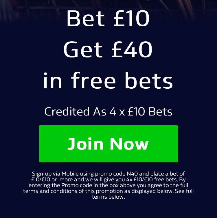 No account with William Hill?   Bet £10 on any selection today and then receive £40 in FREE BETS! ✅ Join via mobile to claim HERE: 📲   #Ad | New Customer Offer | 18+ | T&Cs Apply | Play Safe #Football #Premiership