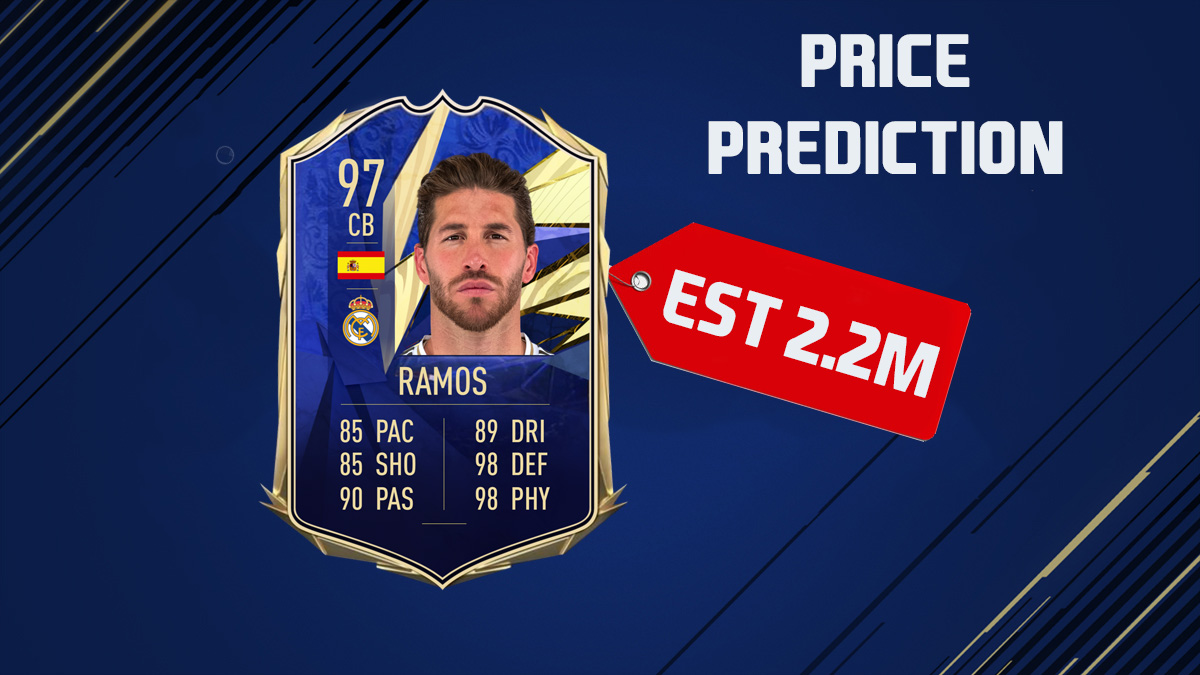 Do you think @SergioRamos will get a toty? This is our prediction for his price #FIFA #Fifa21 #TOTY #RealMadrid #Spain #ramos