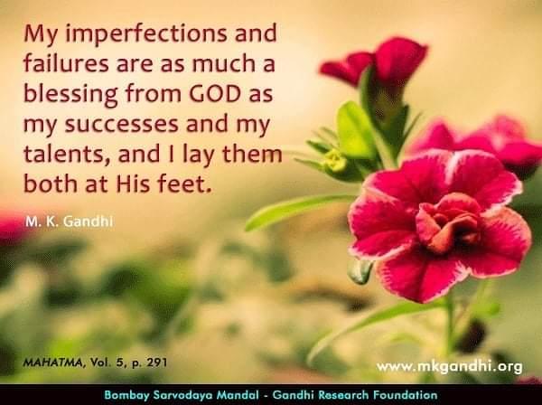 #God #GodWins #success #successisnotanaccident #successful #failure #TalentTakesPractice #perfection #acceptance #Gandhi #GANDHITALKS #humility