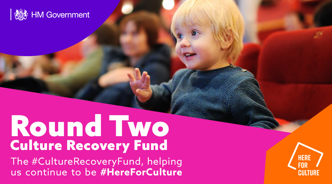 One week remaining to apply for the second round of #CultureRecoveryFund grants in arts and heritage.  For all the latest info, follow: ▶️  @ace_national ▶️  @HeritageFundUK ▶️  @HistoricEngland #HereForCulture  @BFI grants for independent cinemas close on 1 Feb