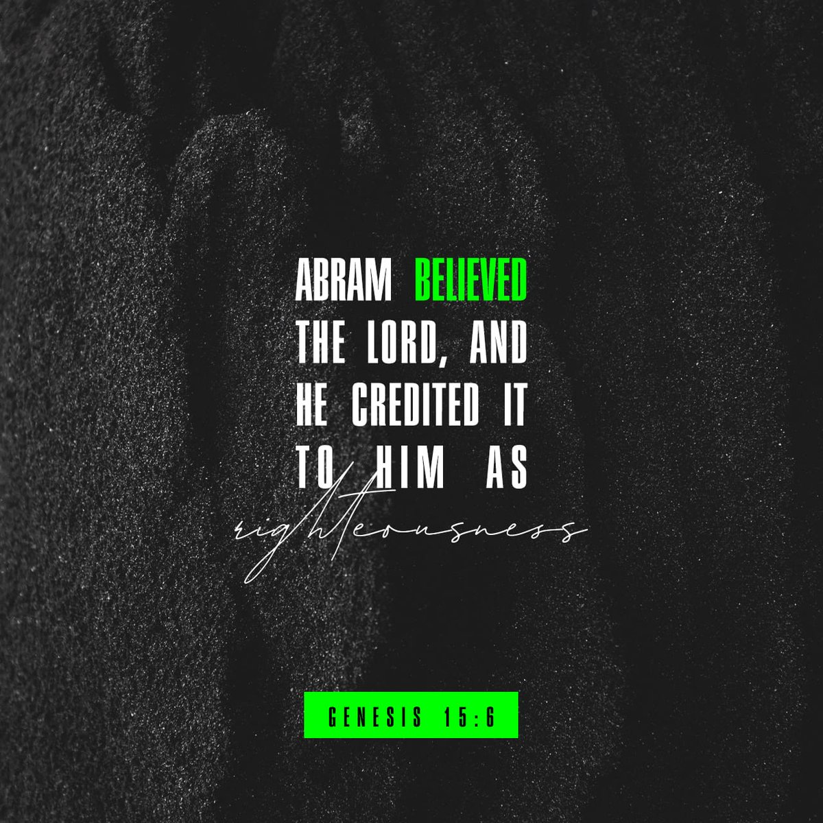 Genesis 15.6 (KJV)Amen. #God #Jesus #faith #righteousness #apostolicsyr #maxjonesministries #syracuse