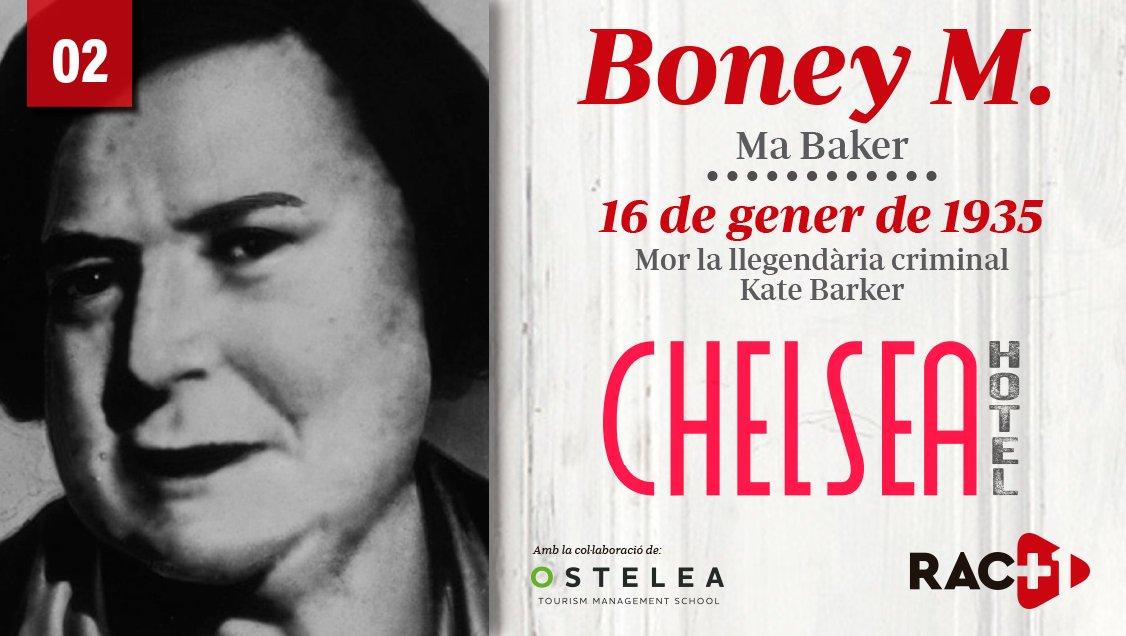 📌 Ja pots escoltar el segon episodi de @ChelseahotelB, amb @osuanya, dedicat a 'Ma Baker', de Boney M  🔊 Escolta'l aquí 👉 https://t.co/wnjMCLNB8v https://t.co/yG810HZH10