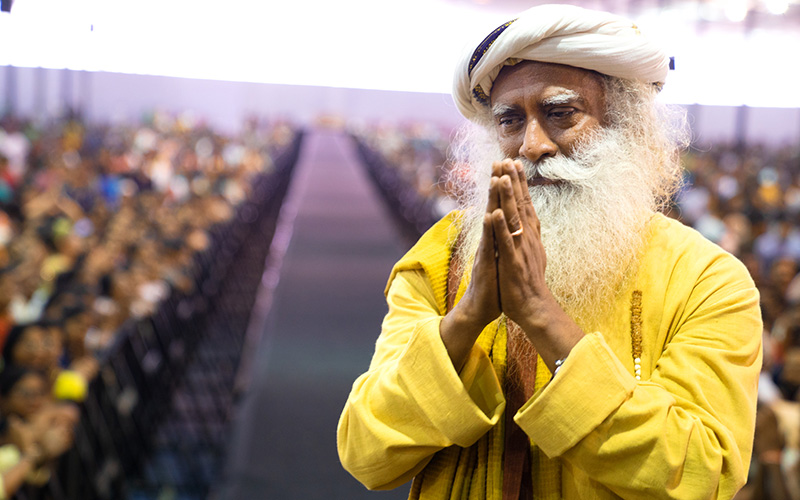 Whatever you do, just check – is it all about you, or is it for the wellbeing of All. This settles any confusion about good and bad karma. #SadhguruQuotes