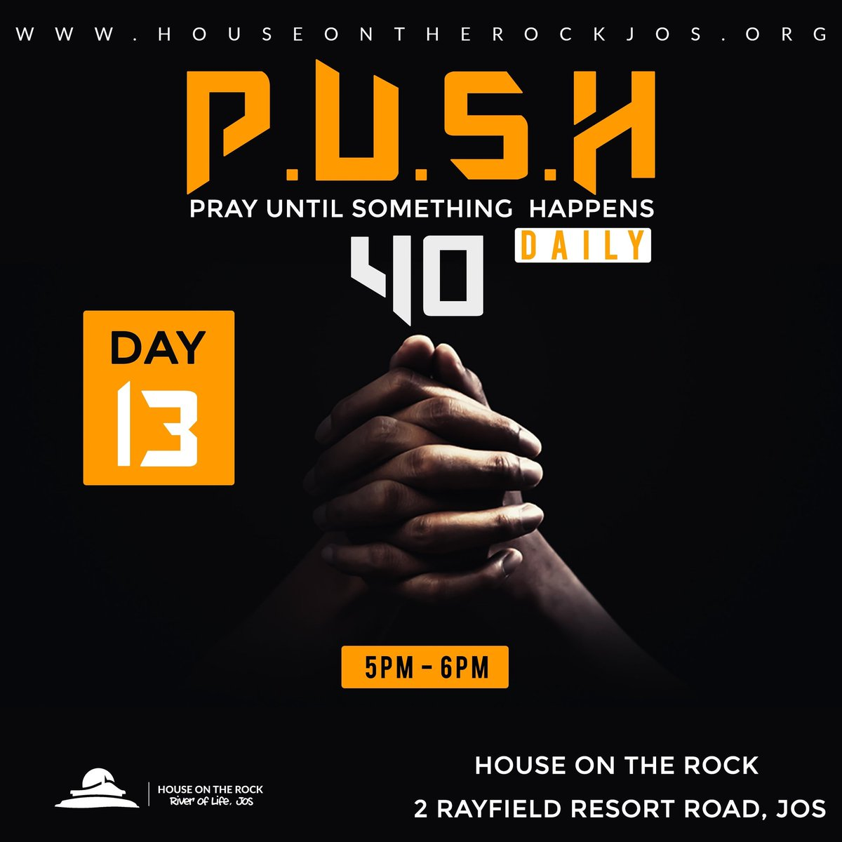 A closed mouth is a closed destiny. God is always listening,  when you Pray.  #Day13 #PUSH40 #OurMonthOfReEngineering #OurYearOfTheExtraOrdinary