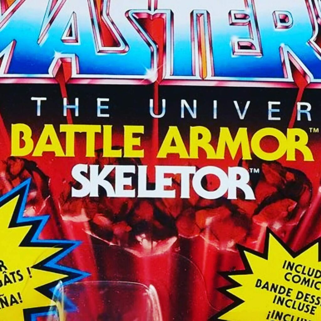 "I'm never going to understand how people can post images with names on them and then spell the name incorrectly. If I see ""SkelAtor"" in any more posts, I'm going to start revoking MOTU cards. 😤 #skeletor #notskelator #motu #mastersoftheuniverse #mast…"