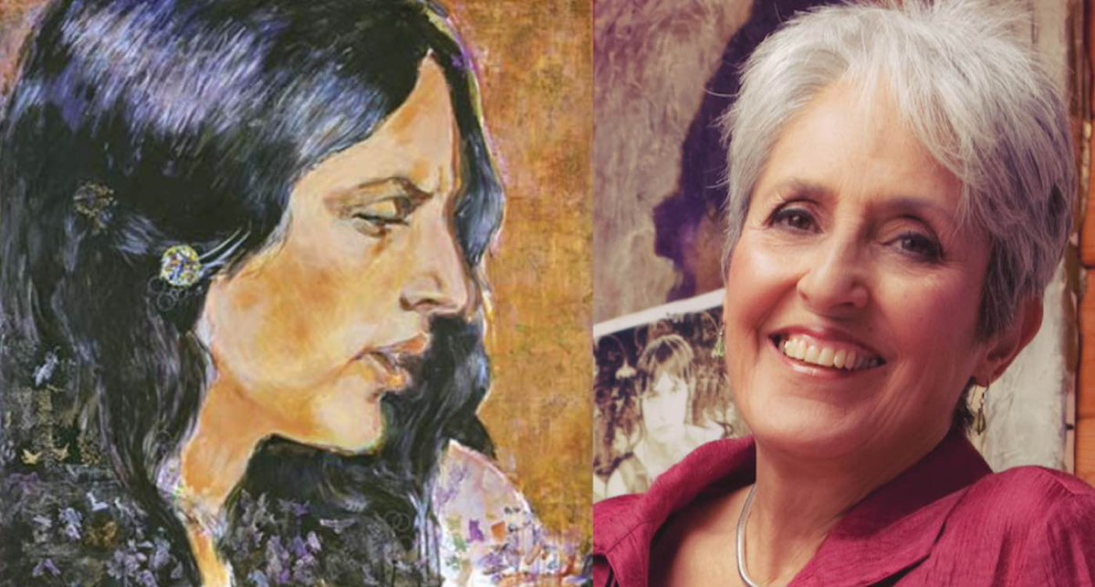 Joan Baez just turned 80 and she is one multi-talented lady! See her masterful paintings in her second solo art exhibit.  https://t.co/DeUfM3x8g6 #joanbaez #seniors #artexhibit #dreambig #folksinger https://t.co/mKHMG6kKP6
