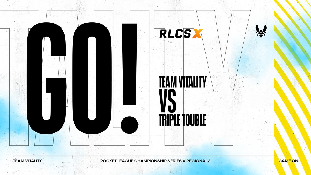 Team Vitality - It's do or die 😫 We're now playing against @TripleTroubleRL in the loser bracket of #RLCSX Winter Regional Event 3   🍀