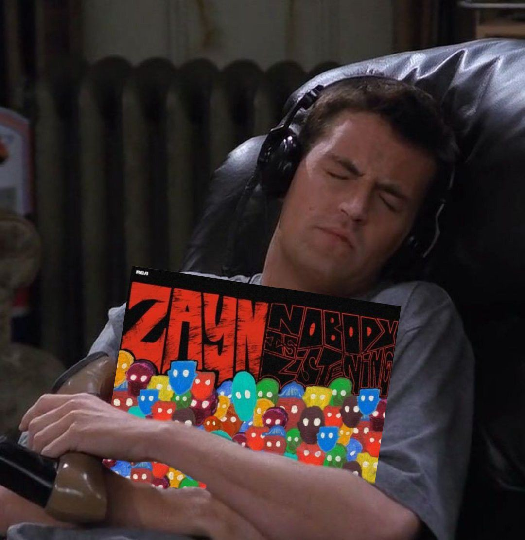 No PeitOral da jAneLa  Eu sinto a ConexÃo Em meio a essa CALAMIDADE. É o MElhOr álbum que não ouço do LAdo de FoRa.  Me sinto IndEcentE  QUandO o Amor está Por pErTo  Como se estivesse numa CoRdA bAmbA  Já sentiu essa Vibe?   #NobodyIsListening #ZAYN #ZaynSaved2021