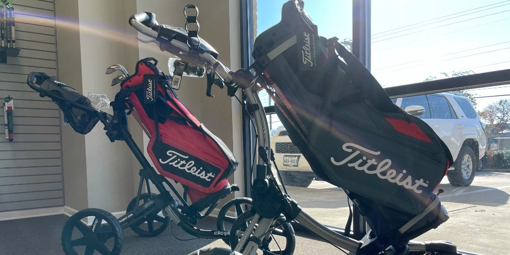 These Carts were made for walking! Compact design and agility for complete freedom on the course. #getgolfstationfit #golfing #clicgear