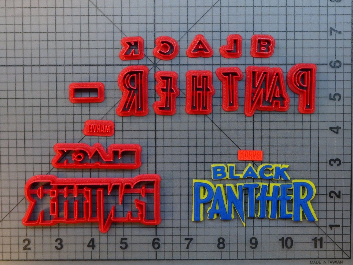 Black Panther Logo 266-611 Cookie Cutter Set now available!  #baking #cookies #fondant #diy #homemade #handmade #bakingsupplies #instadaily #instafood #igdaily #jbcutoutoflove #cookiecutters #fondantcutters #customize #custom