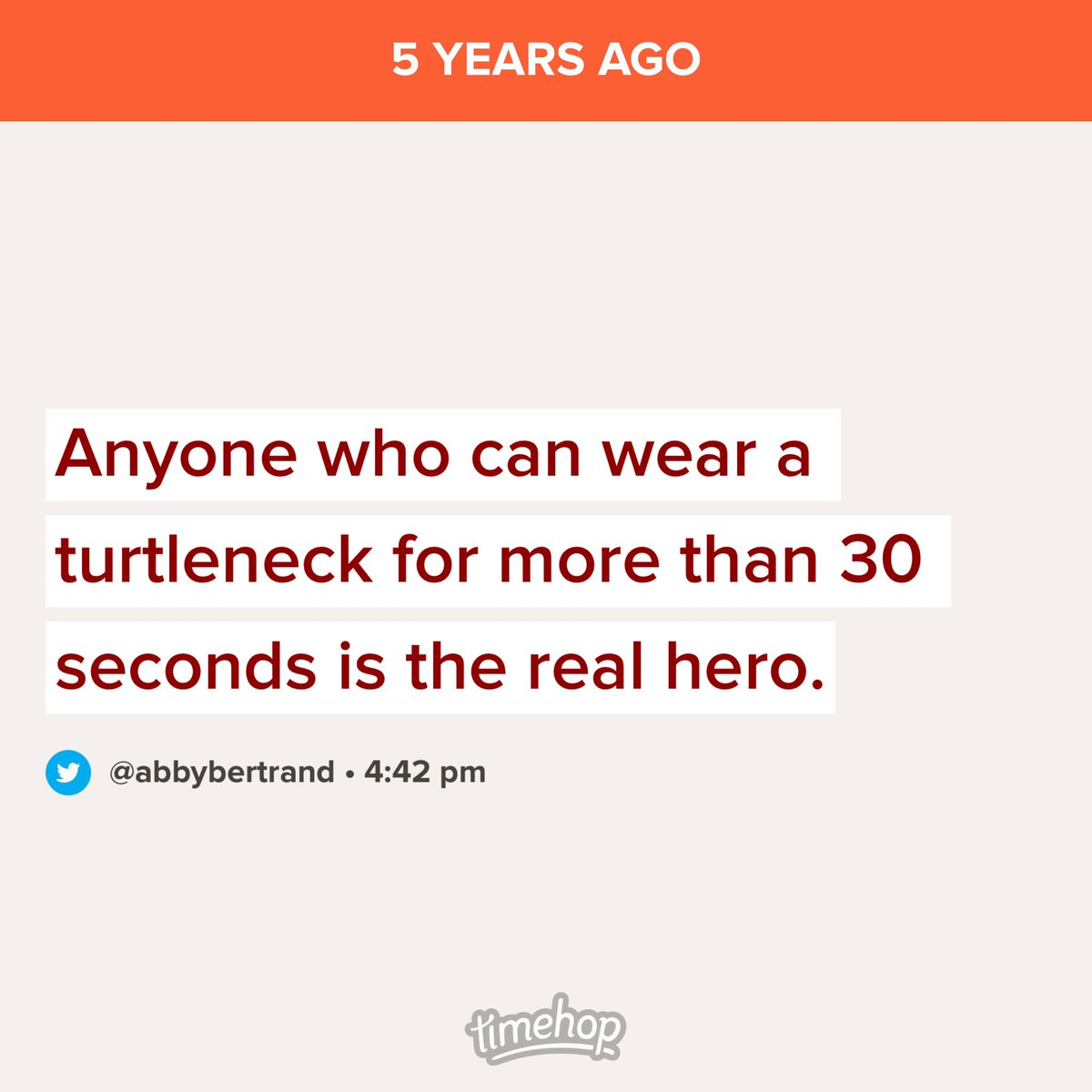 I stand by this tweet