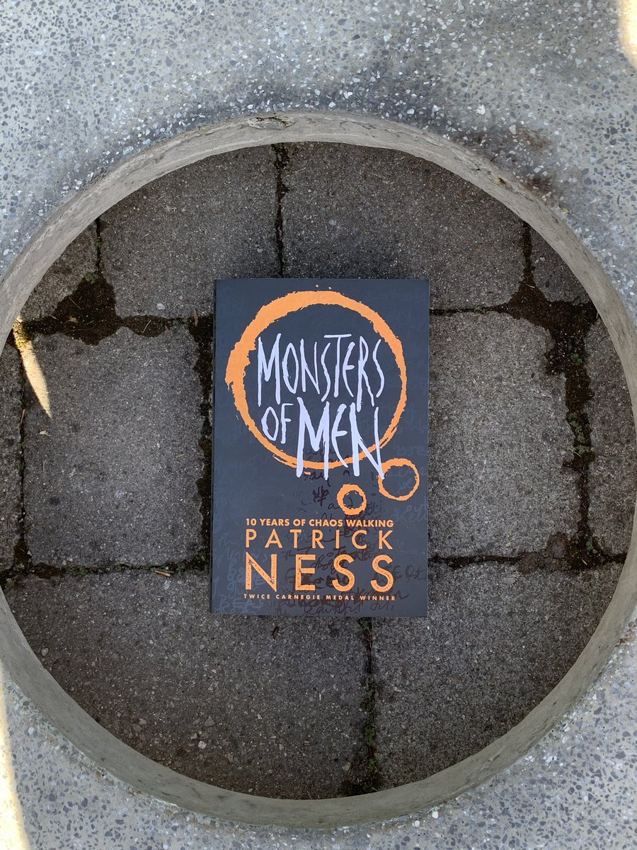 #MonstersOfMen (by #PatrickNess) is a satisfying conclusion to the #ChaosWalking trilogy that's thought-provoking, while exciting and action-packed at the same time. These books are so filled with life and meaning, a perfect mixture of pain and heartache, love and hopefulness.