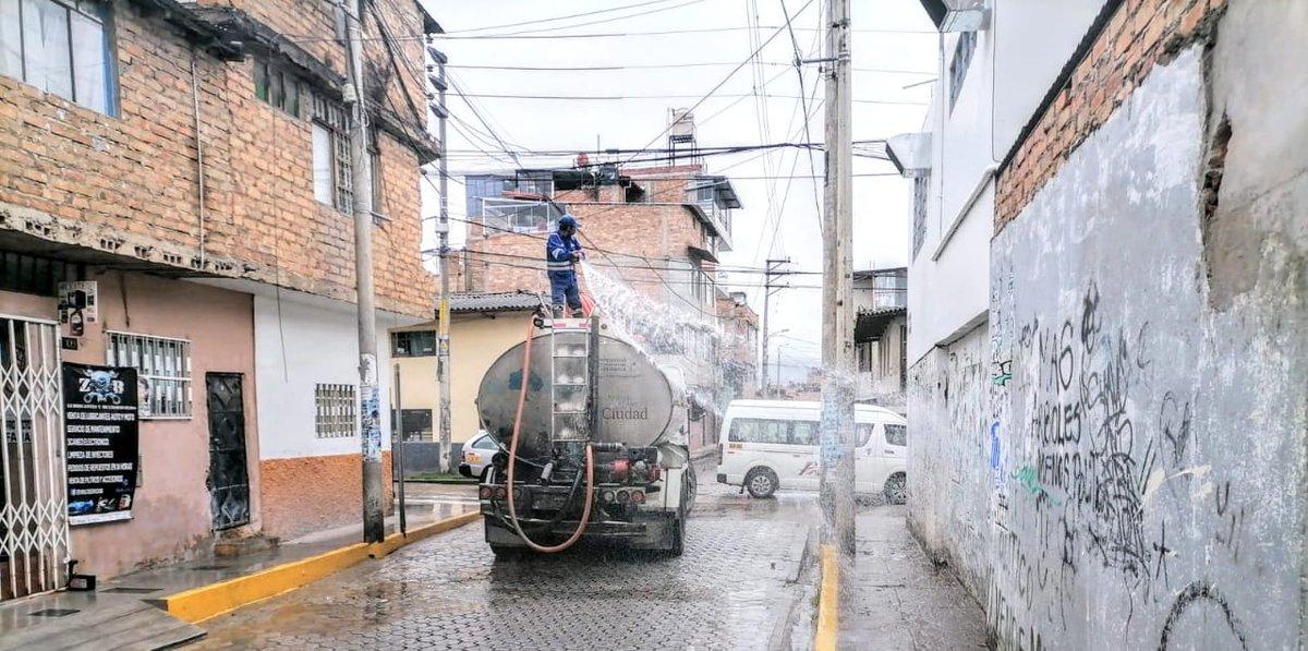 #Cajamarca Retoma campañas de desinfección masiva ante #SegundaOla del #Covid_19 https://t.co/fjIT4mHM5s